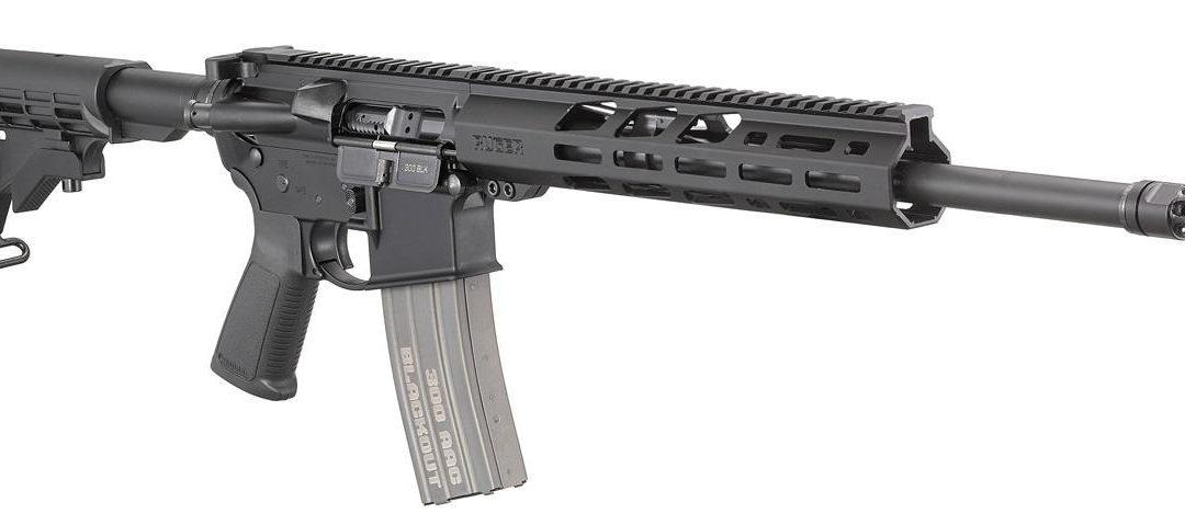 La carabina Ruger AR-556 con «Free float handguard» – Ahora en cal. 300 Blackout