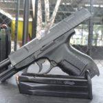 Pistola Walther P 99 AS, prueba de confianza