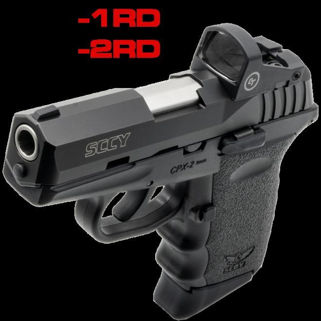 SCCY anuncia las pistolas CPX  con punto rojo Crimson Trace