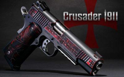 La pistola Desert Eagle Crusader 1911