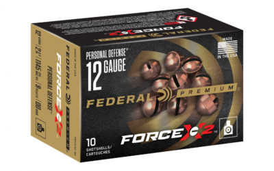 Federal FORCE X2 Shotgun Ammo – 00 Buckshot que se divide por la mitad