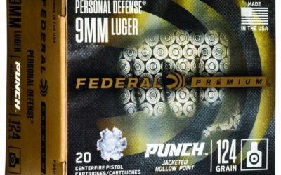 "Municiones para defensa ""PUNCH Federal Premium"""