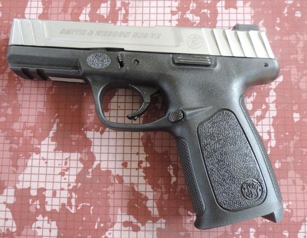 Smith & Wesson SD 9 VE, prueba de confianza.