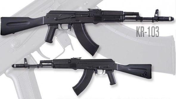 El NUEVO AK: KR-103 – 100% ruso y  100% americano