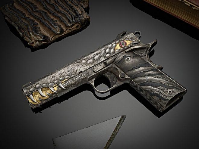 """Empresa de armas Cabot guns lanza pistola """"DRAGON FIRE"""""""