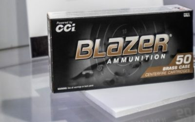 Municiones Blazer Brass 180 Grain FMJ, calibre 10 mm