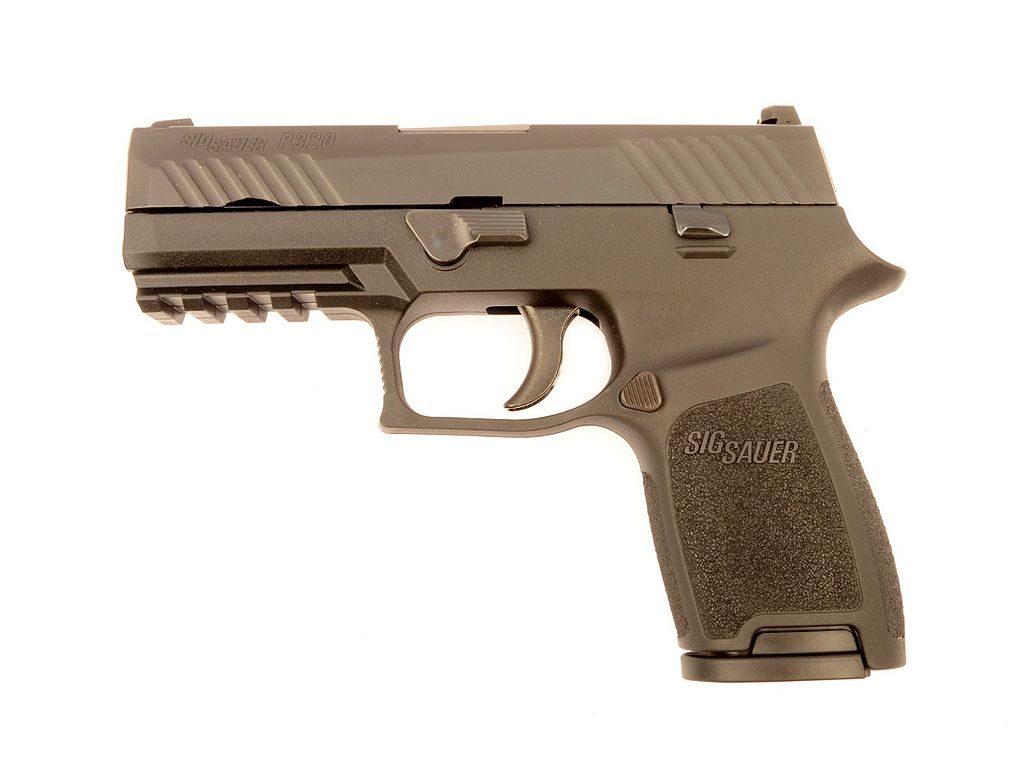 Pistola SIG Sauer P320 para Policía de Nevada, Estados Unidos