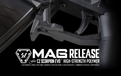 "Strike Industries: nuevo ""magazine release""para CZ Scorpion EVO"