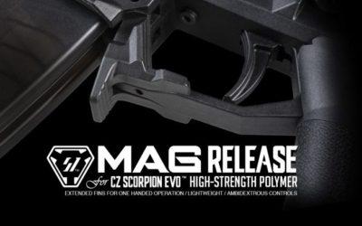 Strike Industries anuncian el nuevo «magazine release»para la CZ Scorpion EVO