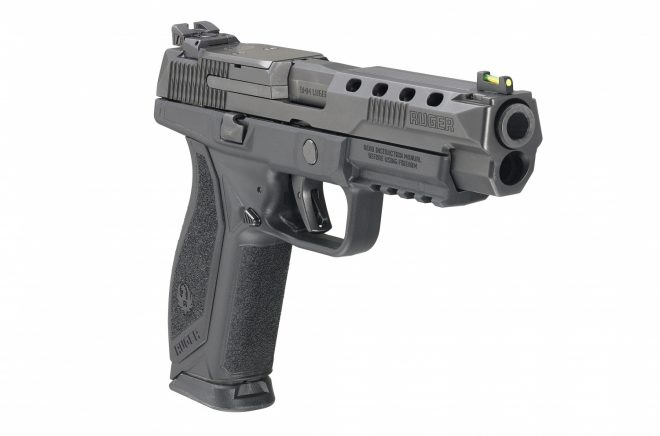Nueva pistola de competición estadounidense Ruger