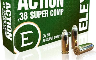 Munición Factory .38 Super Comp de Eley para la competencias USPSA e IPSC
