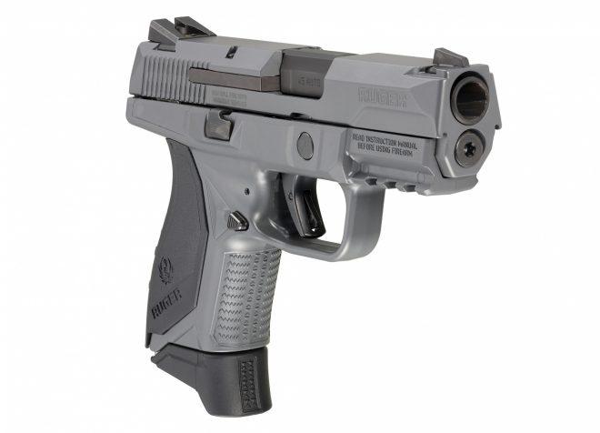 NUEVO: la pistola  Ruger American Compact en gris