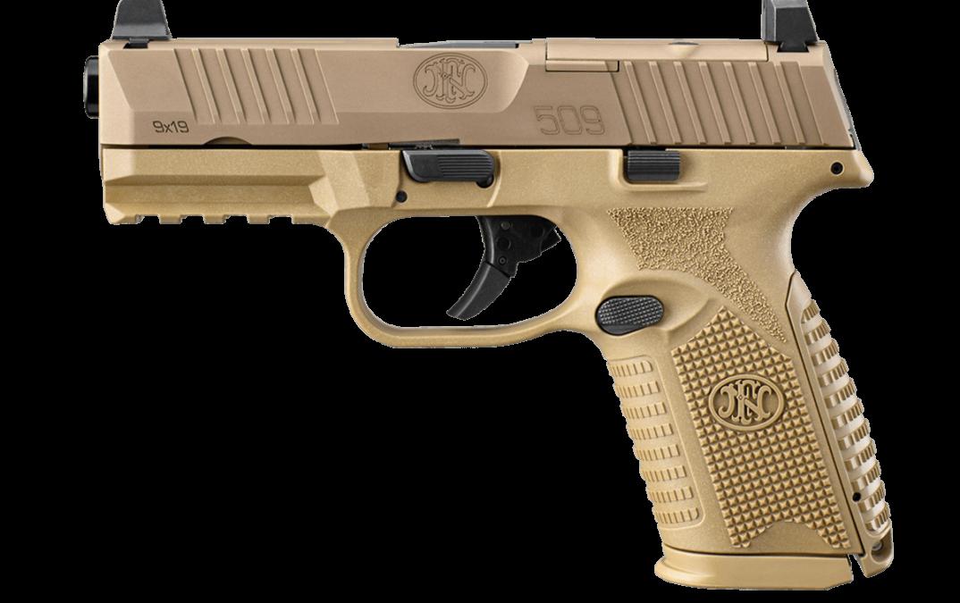 FN America: nueva pistola MRD FN 509 compacta