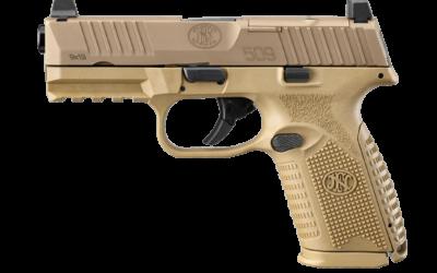 FN America presenta la nueva pistola MRD  FN 509 en FDE de tamano compacto