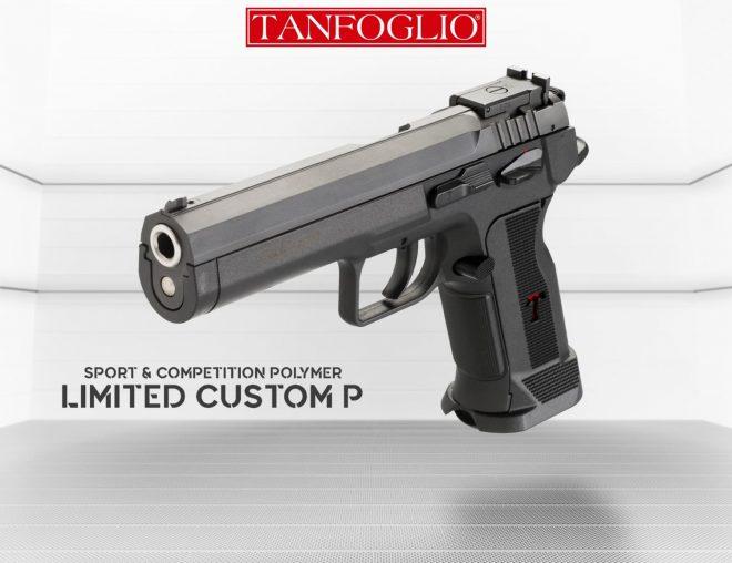 Tanfoglio Limited Custom P. Fuente tanfoglio.it/catalogo.php. Redacción Espacio Armas