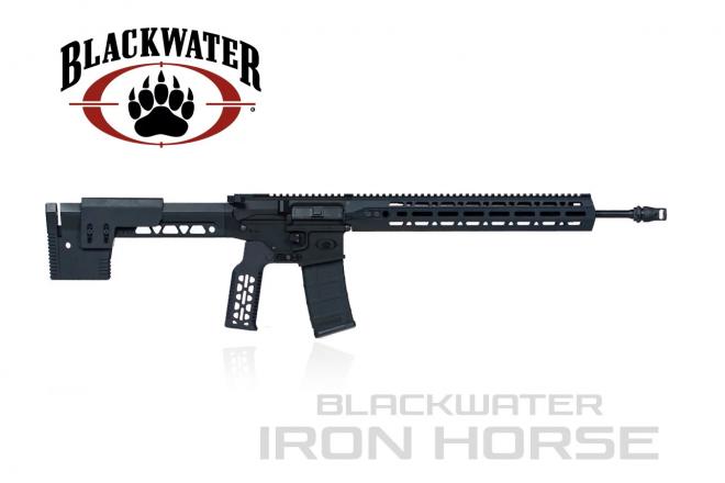 El Ar 15 de Iron Horse. Fuente blackwaterusa.com. Redacción Espacio Armas.