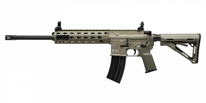 Nuevo rifle Heckler&Koch MR556A1 en FDE