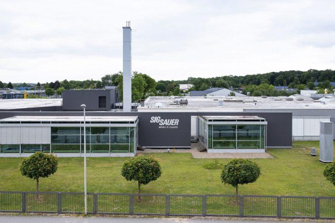 SIG Sauer Alemania cierra