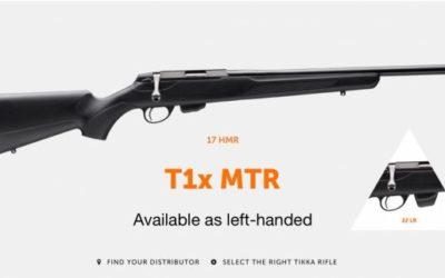 Rifle T1X MTR Tikka de precisión, para zurdos