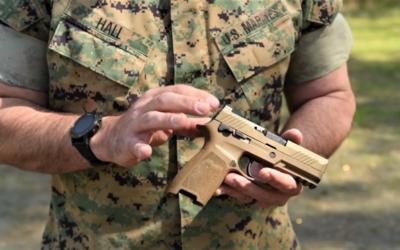Pistola Sig Sauer M18 para Marines: comenzará despliegue general