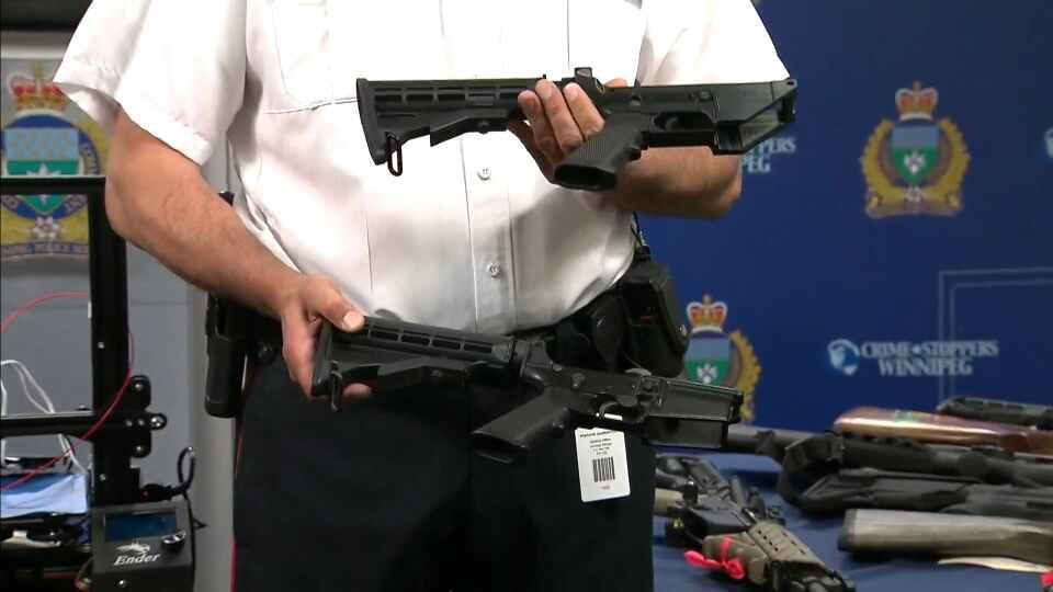 La policía de Winnipeg confisca AR15 y Glock con receptores impresos en 3D