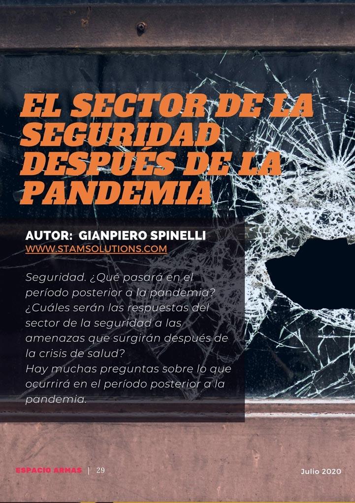 El sector de la seguridad en la post pandemia