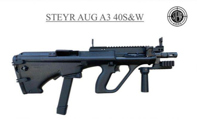 La policía de Sao Paulo selecciona el rifle Steyr AUG SMG en calibre .40