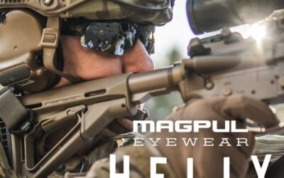 Lentes balísticos para tiradores, Helix Ballistic-Rated Eye Pro de Magpul