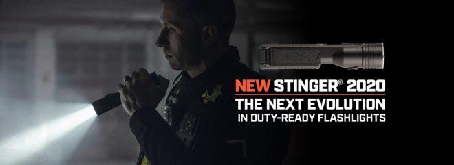 Streamlight presenta la linterna de mano Stinger 2020 Duty Ready