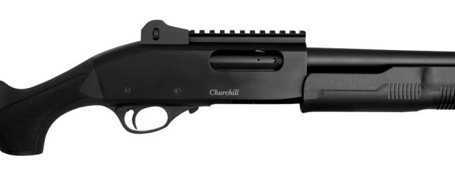 Escopeta bomba Akkar Churchill 620 Tactical 20GA