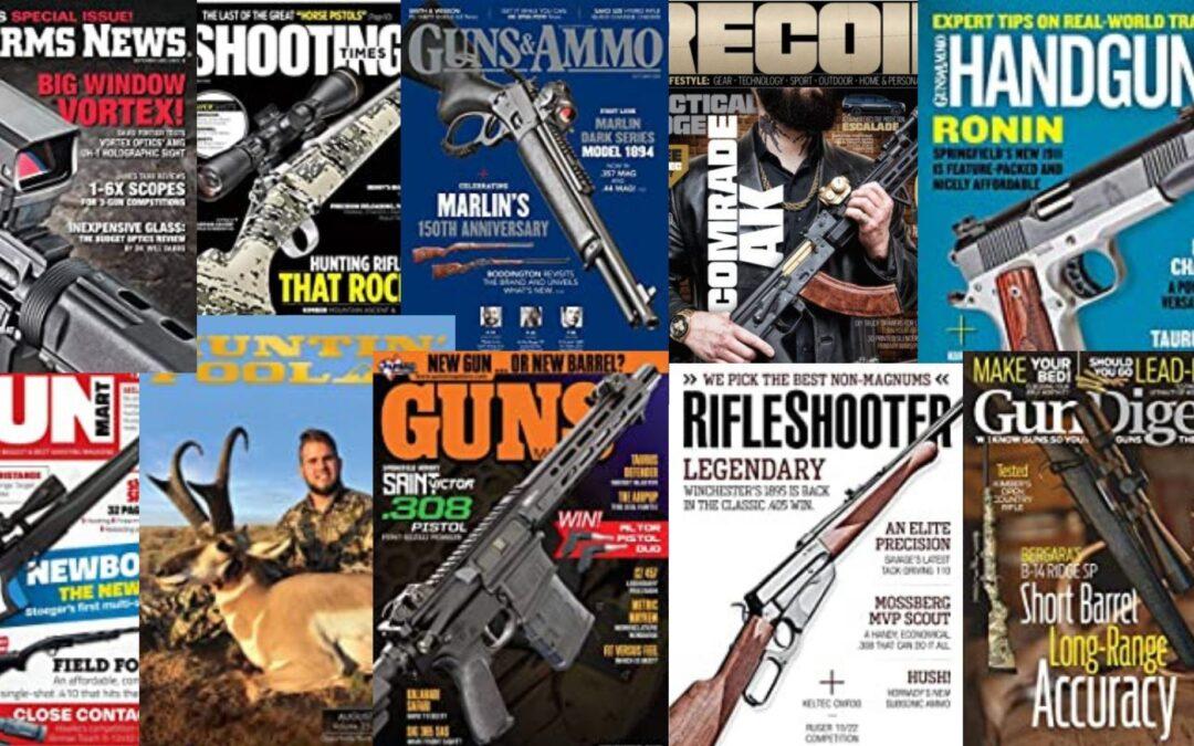 Revistas de armas: las 5 más importantes en inglés
