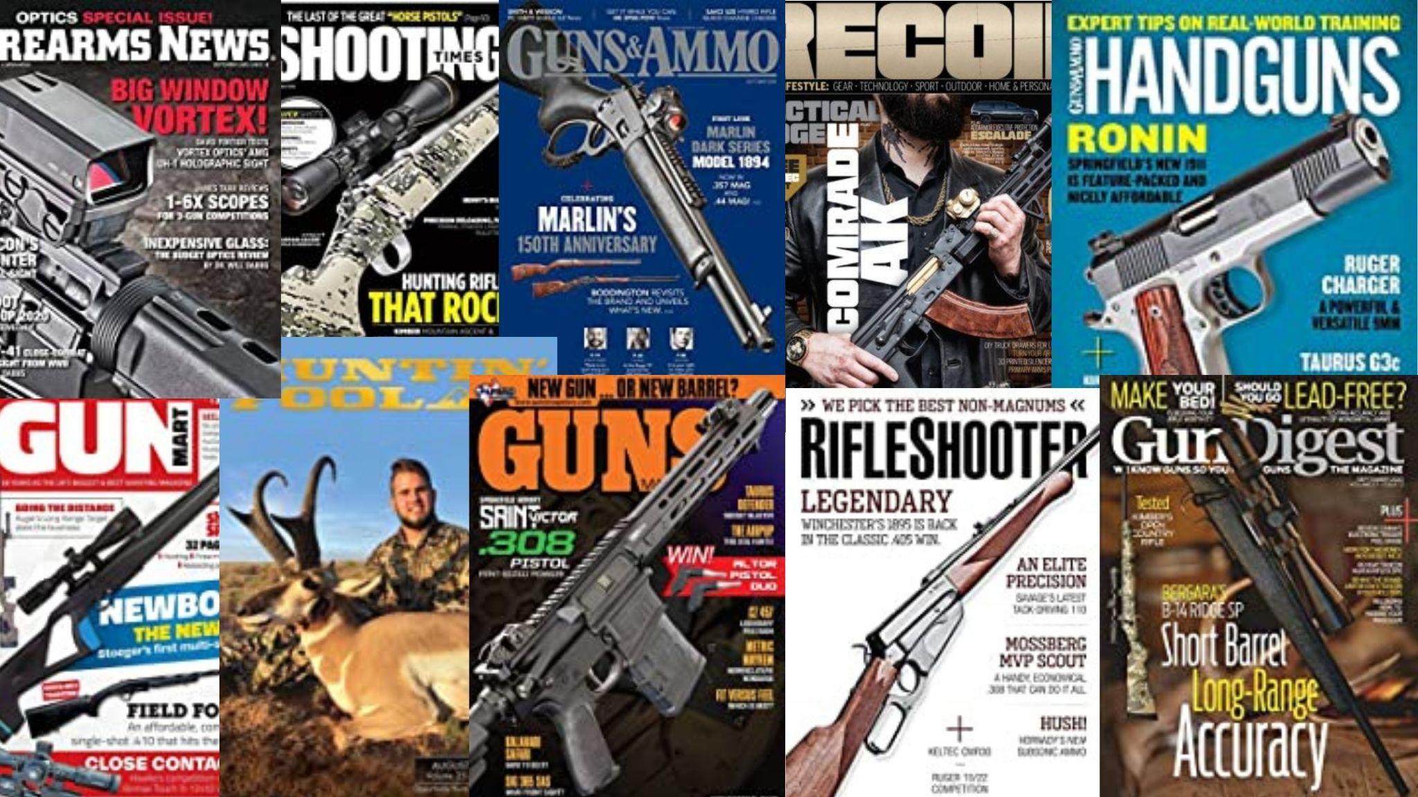 Revistas de armas en inglés