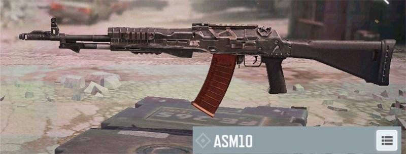 Fusil de asalto ASM10 en Call of Duty Mobile