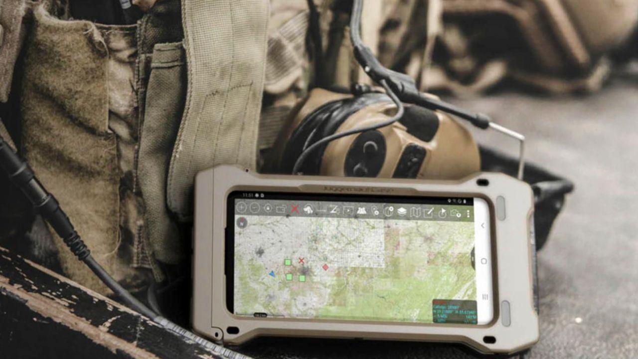celular tactico militar para tropas Galaxy S20 Tactical Edition