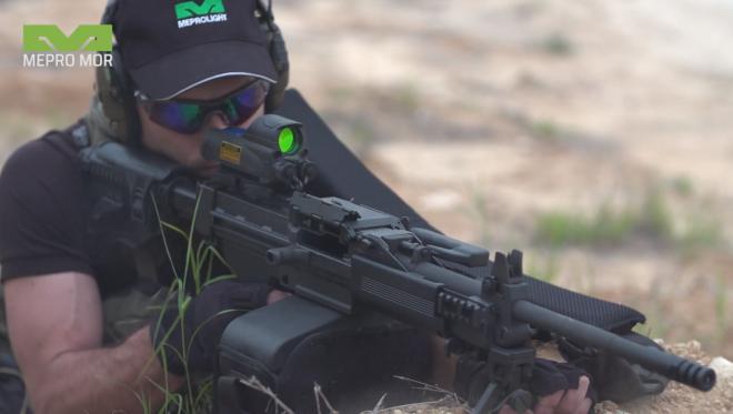 Mira para fusiles Meprolight MOR: campo de visión de 160 grados