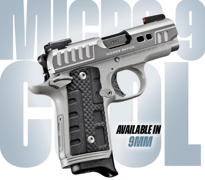 Pistola kimber micro 9 Rapide: nuevo lanzamiento