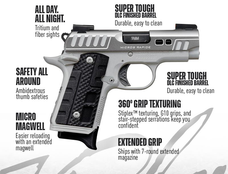 Nueva pistola Kimber: Micro 9