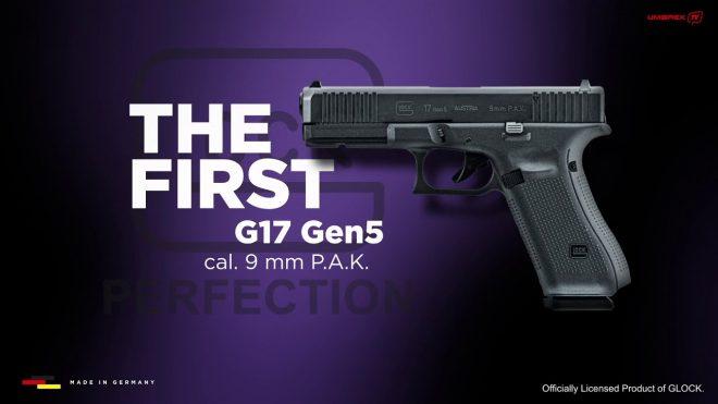 Pistola réplica Glock Umarex: pistola de salva