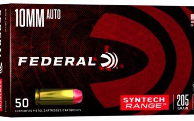 Federal Premium presenta tres calibres nuevos: Syntech Range