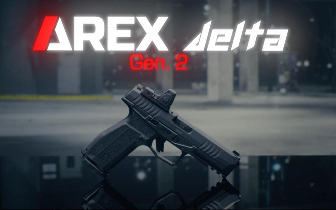 AREX Defense anuncia la pistola Striker Gen 2