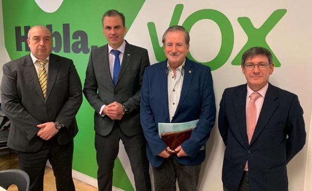 Representantes de VOX se reúnen con ANARMA para trasladar las principales preocupaciones del sector.